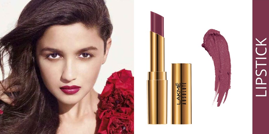 Lakme Absolute Argan Oil Lip Color - 'Juicy Plum' shade