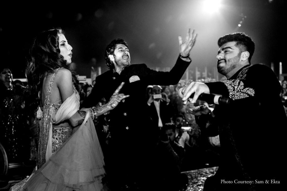 Candid Captures at Antara Motiwala & Mohit Marwah's starry wedding