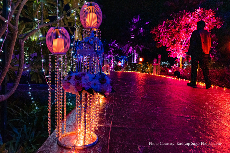A grand wedding at the iconic Atlantis The Palm, Dubai was a feast for all the senses