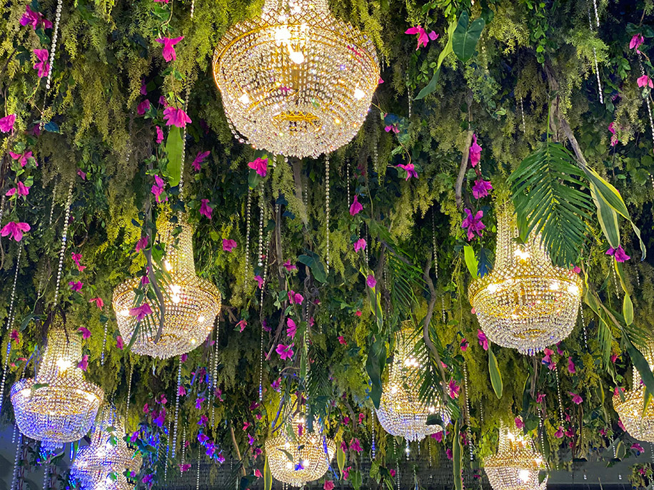 Sangeet Decor by The Bridal March & Co.