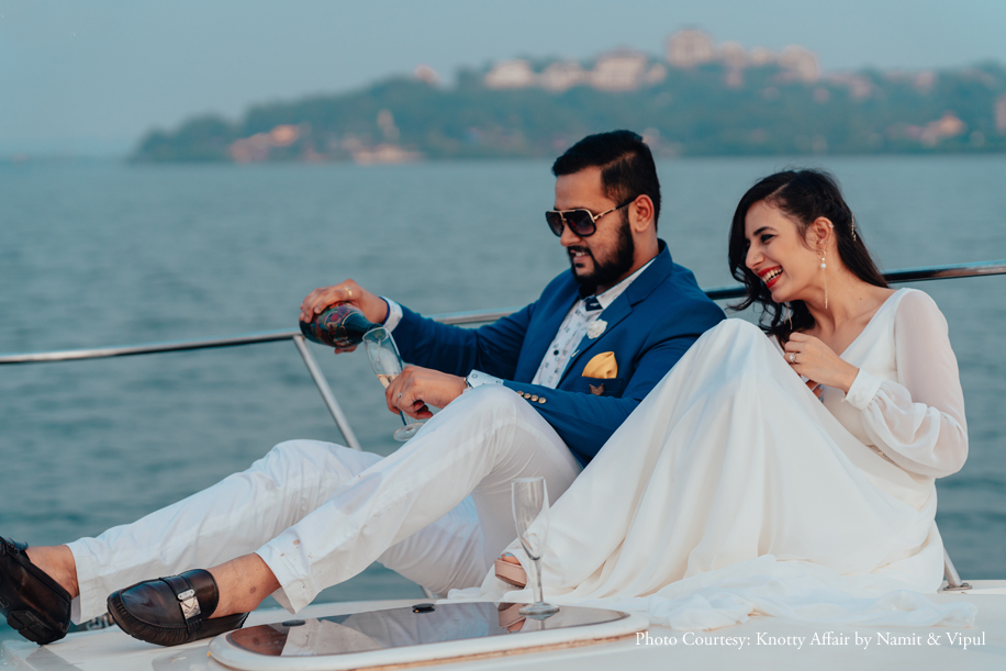 A Romantic Pre-Wedding Shoot in Goa