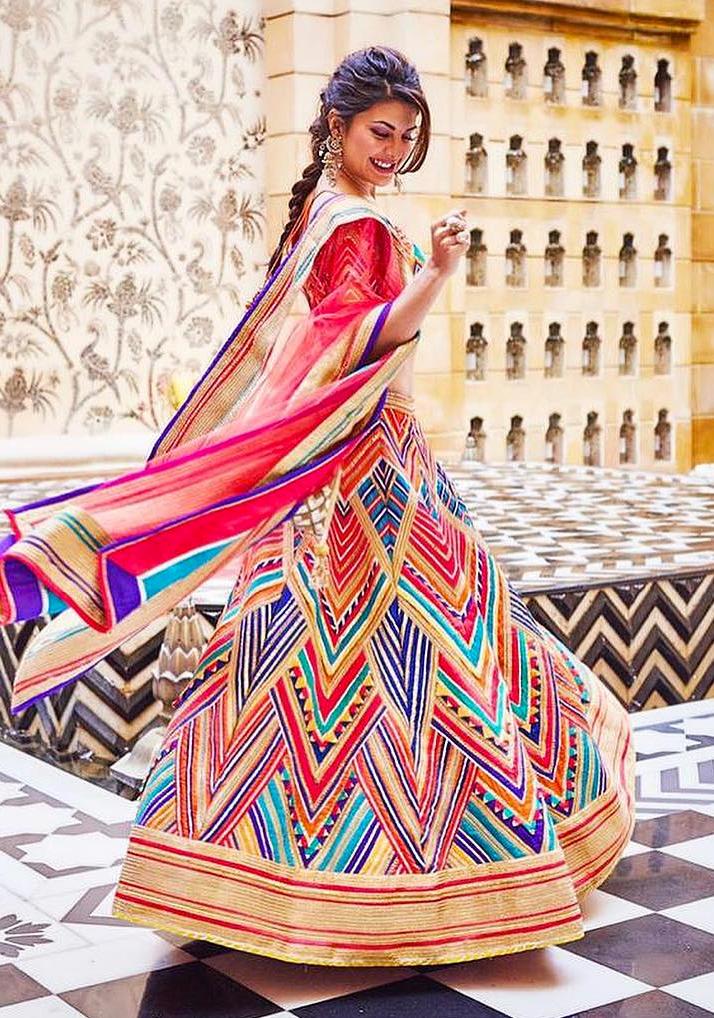 Jacqueline Fernandez in Abu Jani Sandeep Khosla