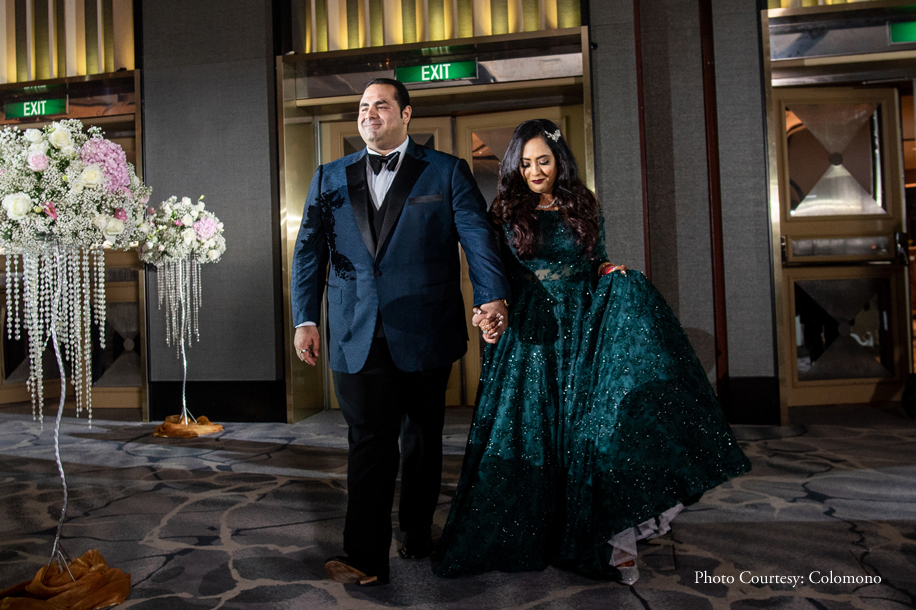Chic venues across Singapore played host to Prith and Karan's charming Sikh wedding celebrations