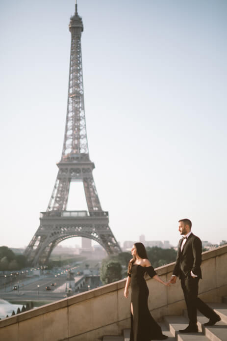 Capturing New Angles of Romance in Paris - the 'City of Love'