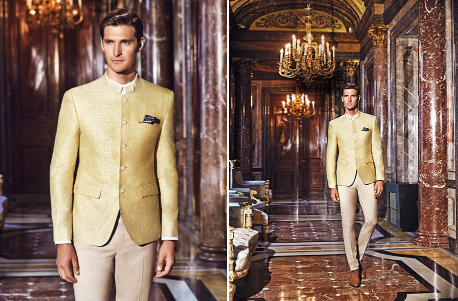Louis Philippe's 'Luxury Wedding Collection'