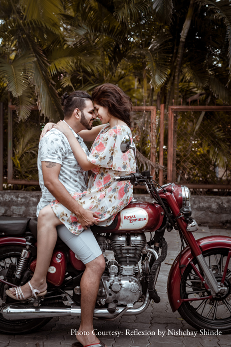 Aniket and Lynette's romantic pre-wedding photoshoot will raise temperatures this winter!