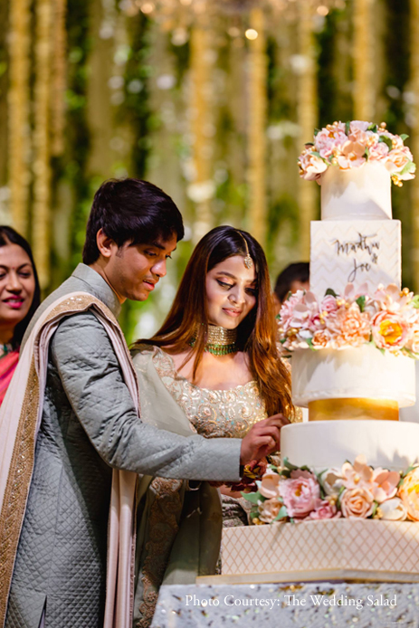 Madhu and Joe's enchanting engagement in God's Own Country was two days of non-stop celebrations