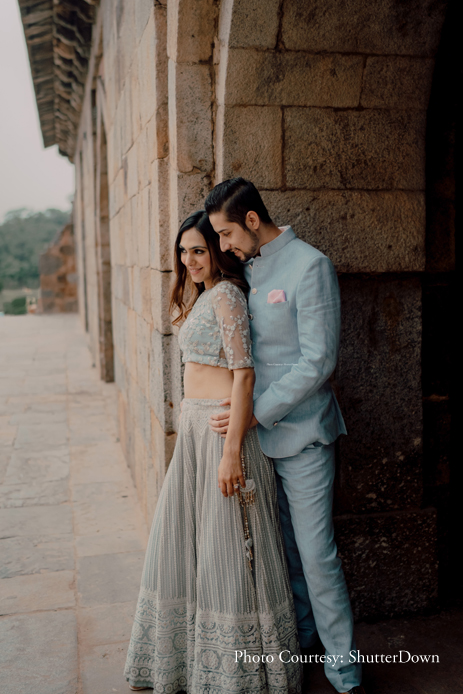A dreamy pre-wedding shoot shot right in the heart of the capital city