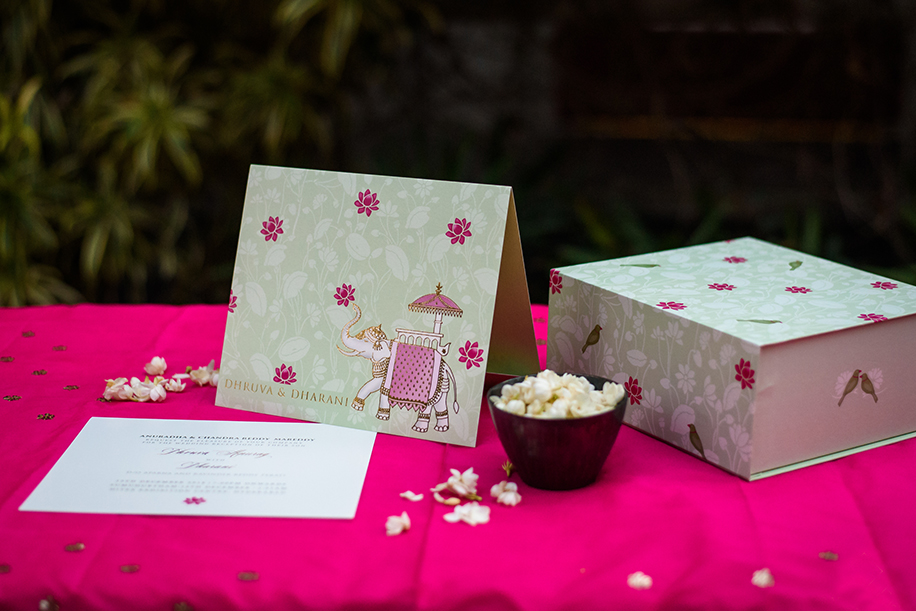 Enter the world of bespoke wedding invitations by Radhika Pitti Studio