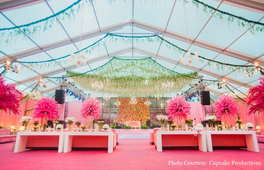 Rohit and Shruti's Floral Decor