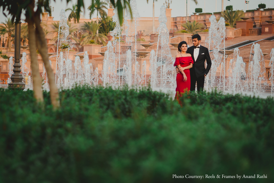 A Pre-Wedding Shoot in the Enchanting City of Dubai