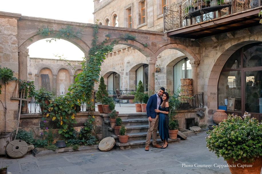 Get inspired by this magical proposal in mesmerizing Cappadocia