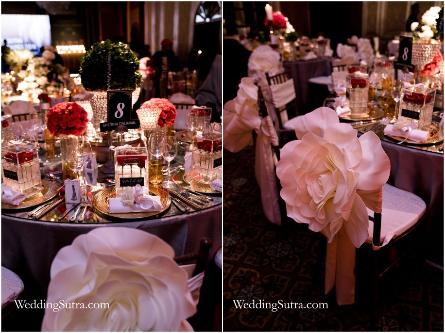 Concept Tables at WeddingSutra Influencer Awards 2018 by Sherina Dalamal