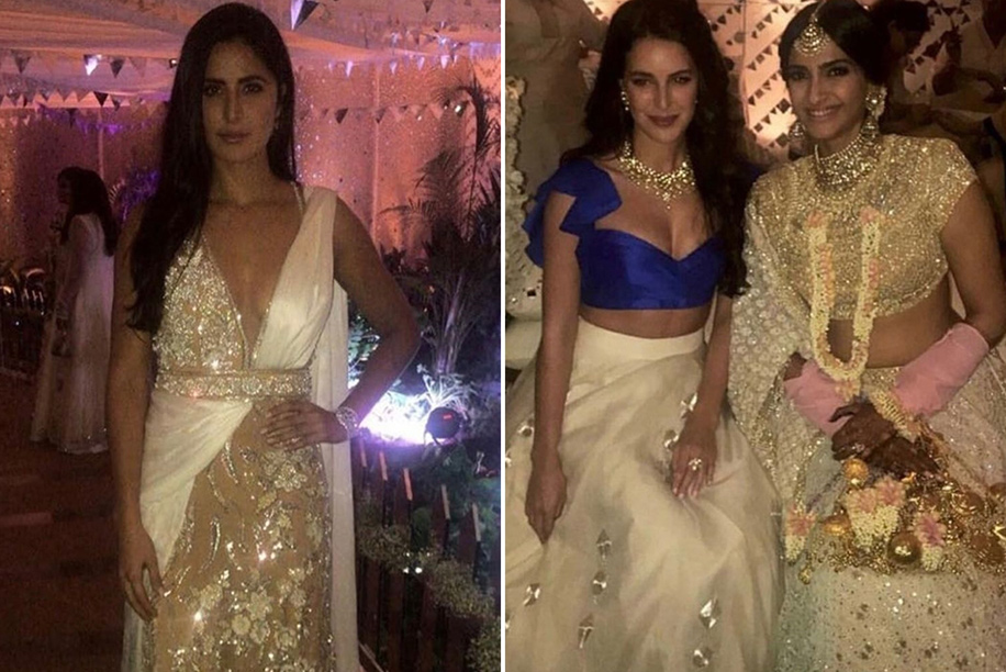Katrina Kaif and Isabelle Kaif at Sonam's Mehendi