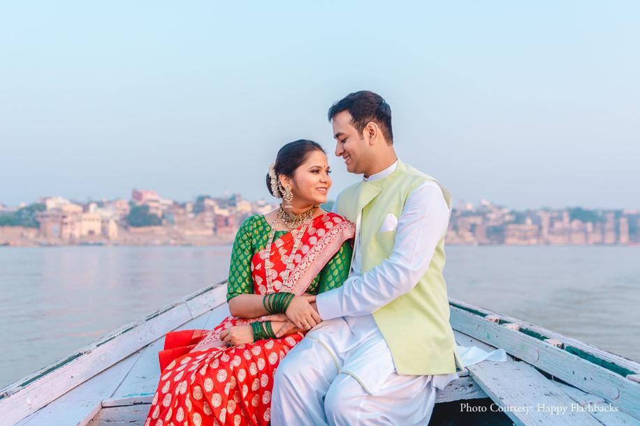 Suhali and Harsh's Pre-Wedding Photo Shoot in Banaras Evokes the Essence Of Love!