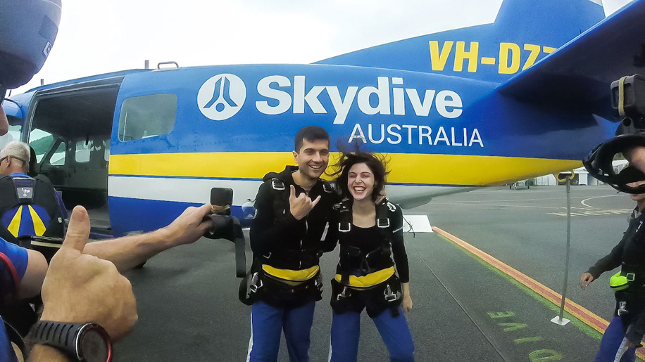 Scheherazade Shroff and Vaibhav Talwar's Honeymoon in Queensland