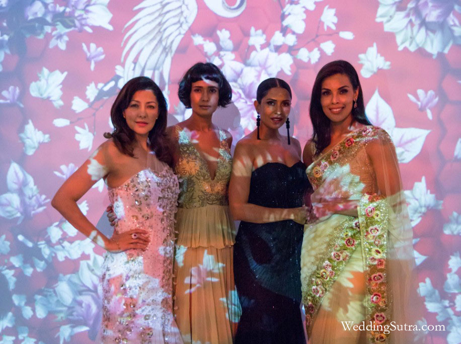Aditi Govitrikar, Rikee Chatterjee, Candice Pinto and Deepti Gujral at WeddingSutra Influencer Awards 2018