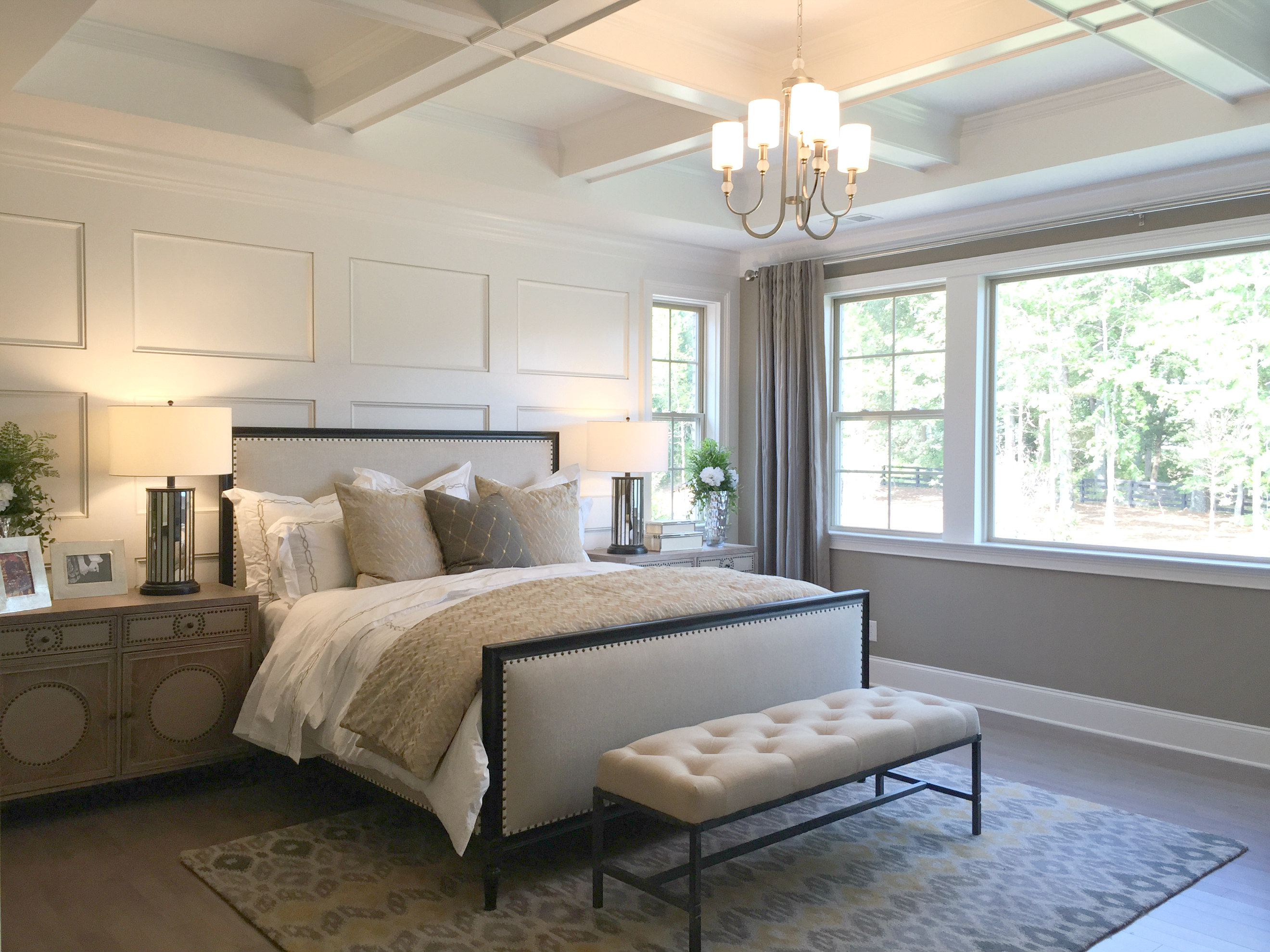 Palermo Model Home - Weddington Waxhaw Homes on Model Bedroom Ideas  id=96328