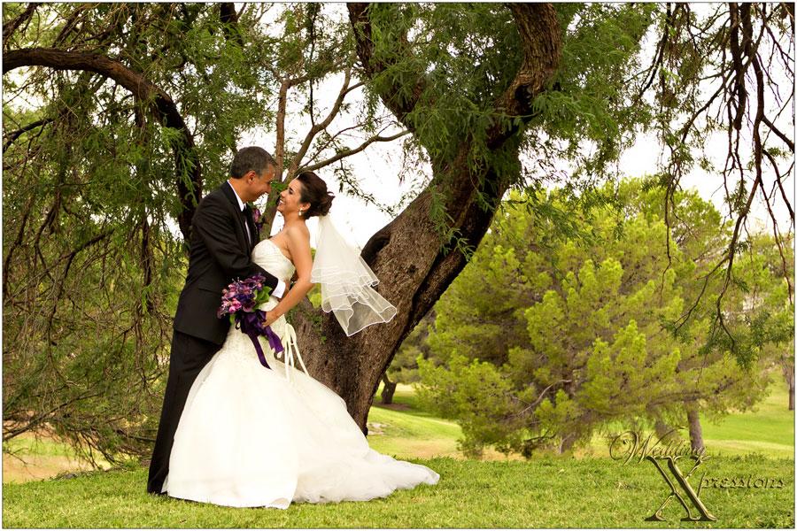 wedding couple photography at Memorial Park in El Paso