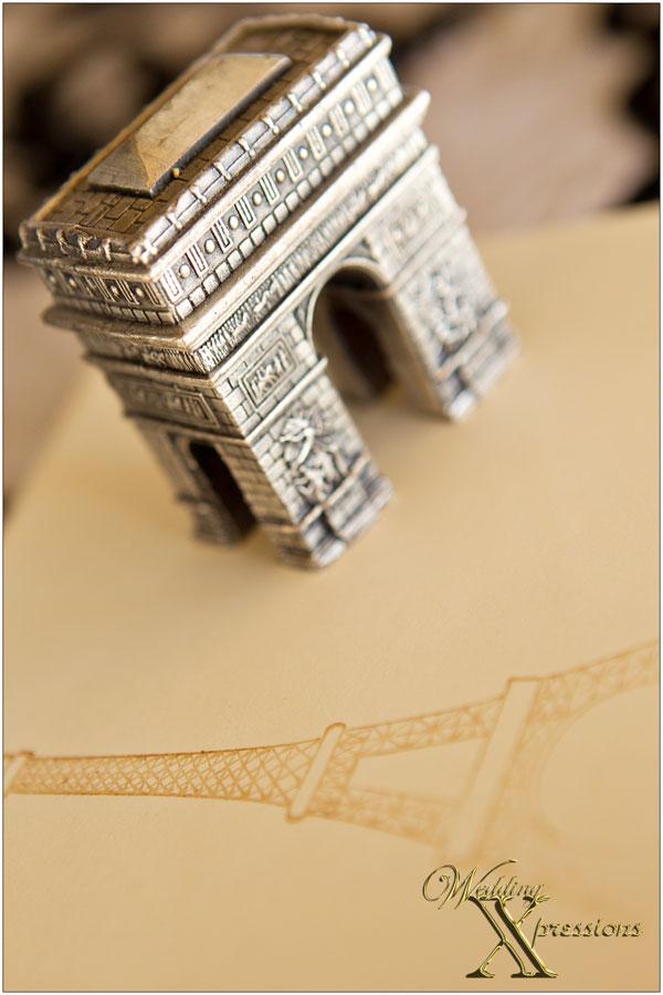 Arc de Triomphe wedding decoration