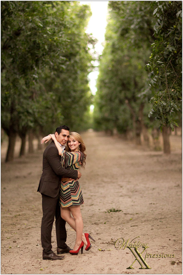 Jair & Zinnia within pecan orchards in Las Cruces, NM