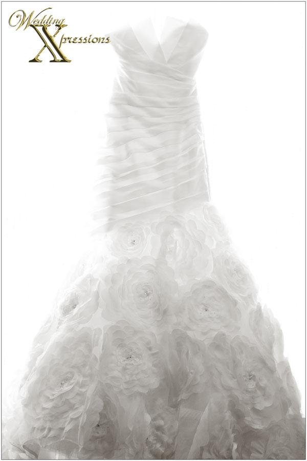 wedding bridal dress