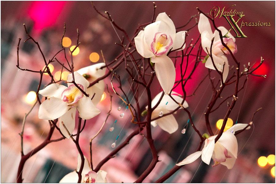 flower wedding center pieces