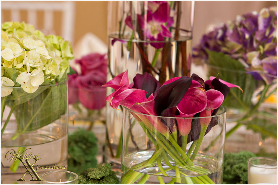 bridal floral decorations