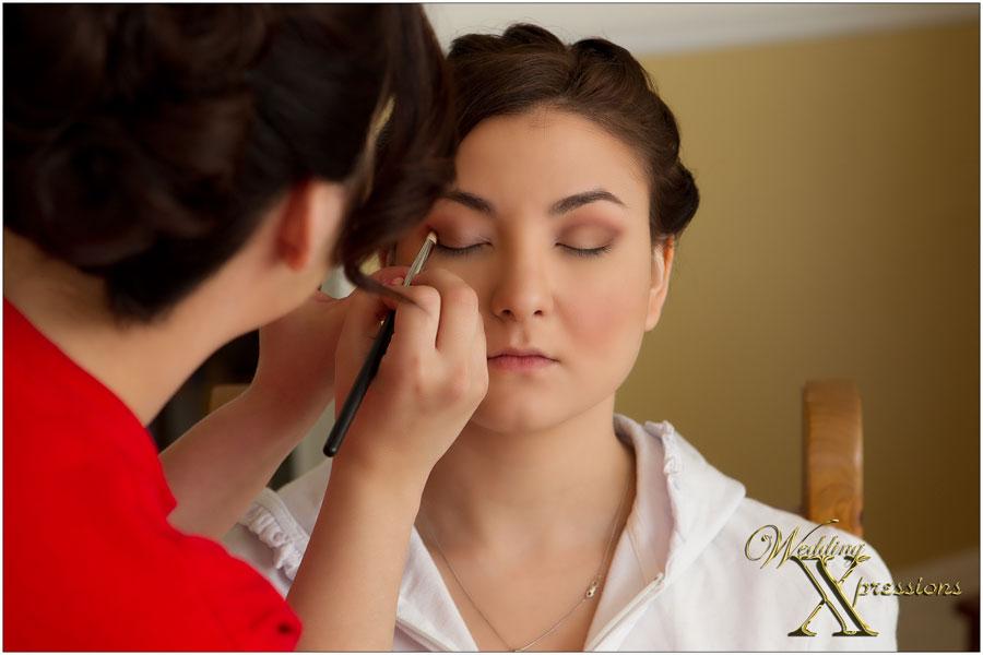 bride makeup