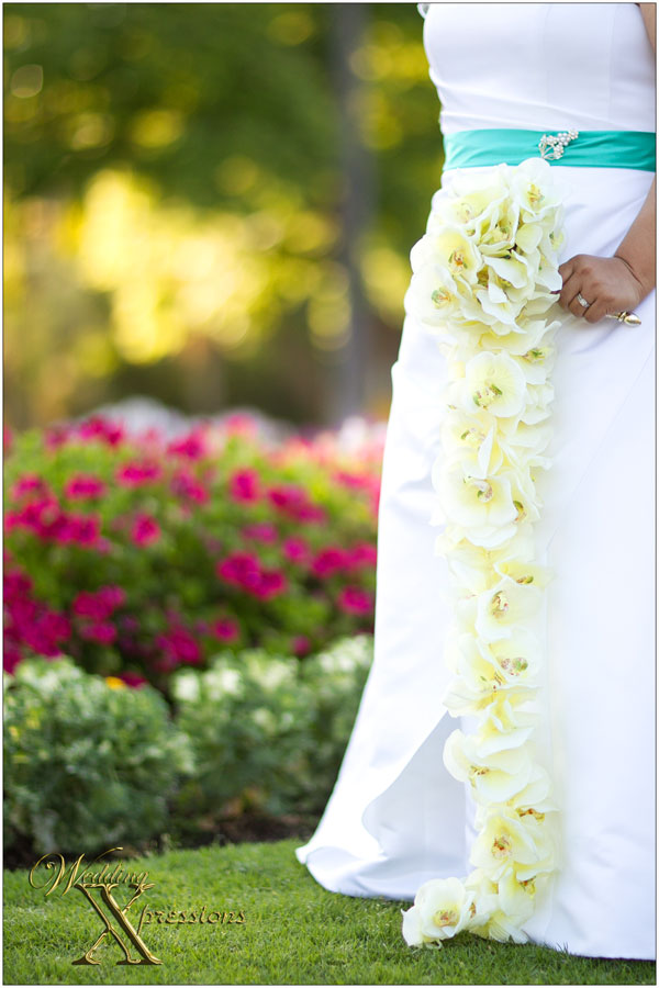 phalaenopsis orchids bridal bouquet