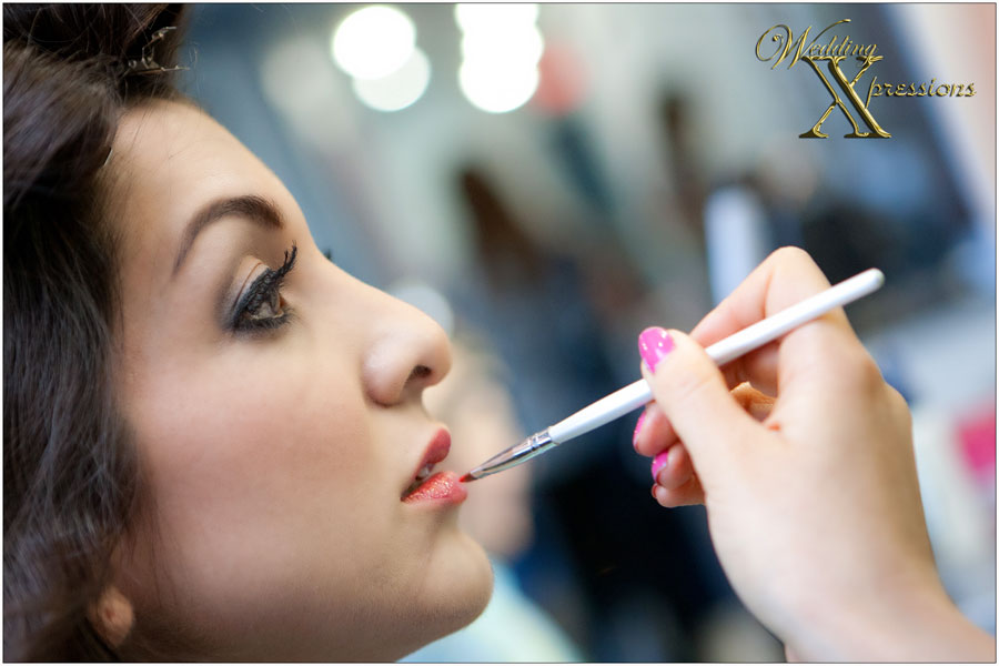 bridal makeup by Mix Salon in El Paso