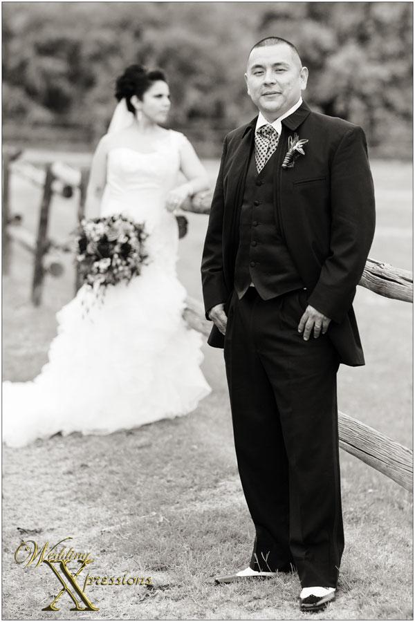 groom Mario on his El Paso wedding day