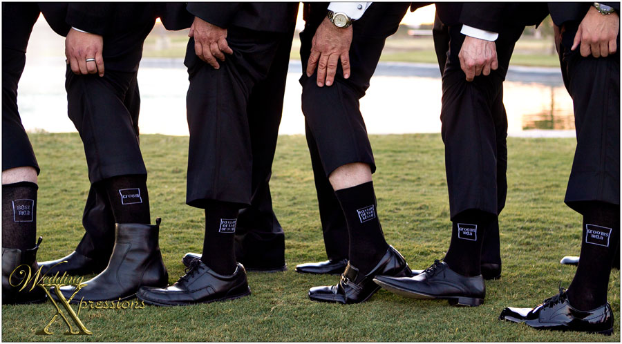 grooms bridal party socks