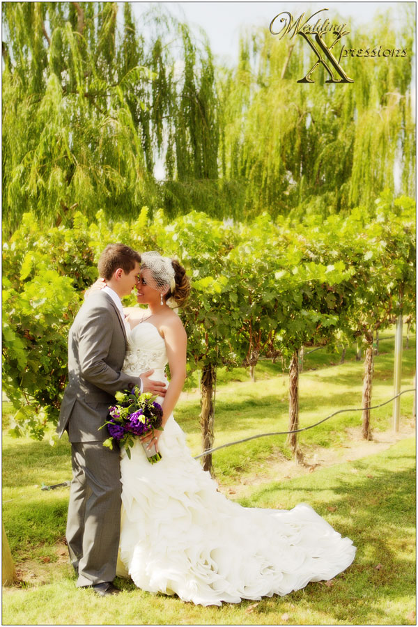 winery wedding photography