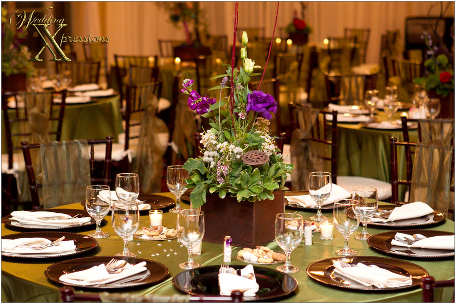 centerpieces by Fiori Flowers