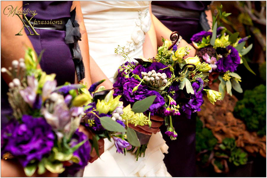 bridesmaids flowers by Fiori