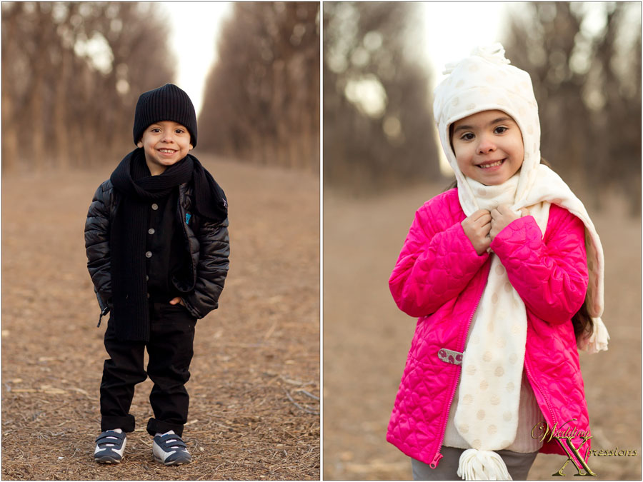 portraits of the kids