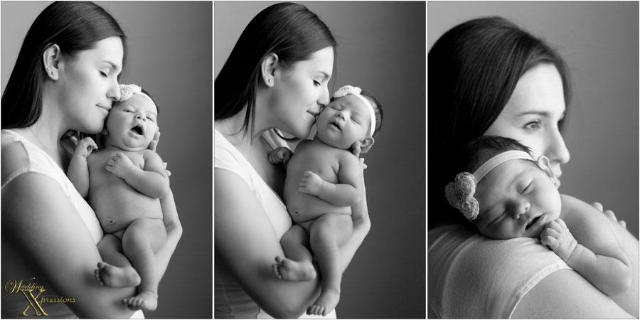 mom with newborn
