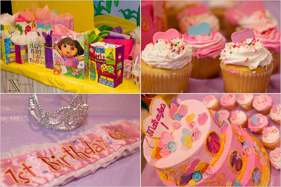 Makayla 1st birthday celebration