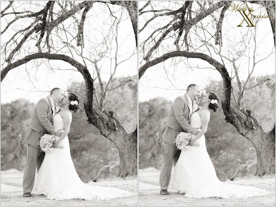 Michael & Neysha on wedding day