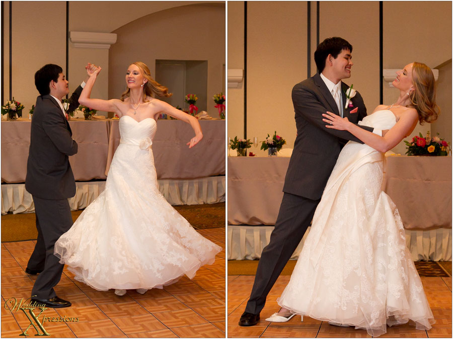 couple's first dance Nathan & Marika