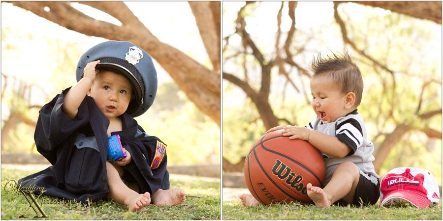 baby police and basketball star