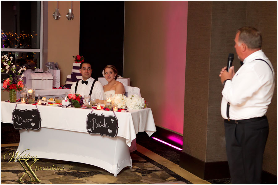 toast by brides father