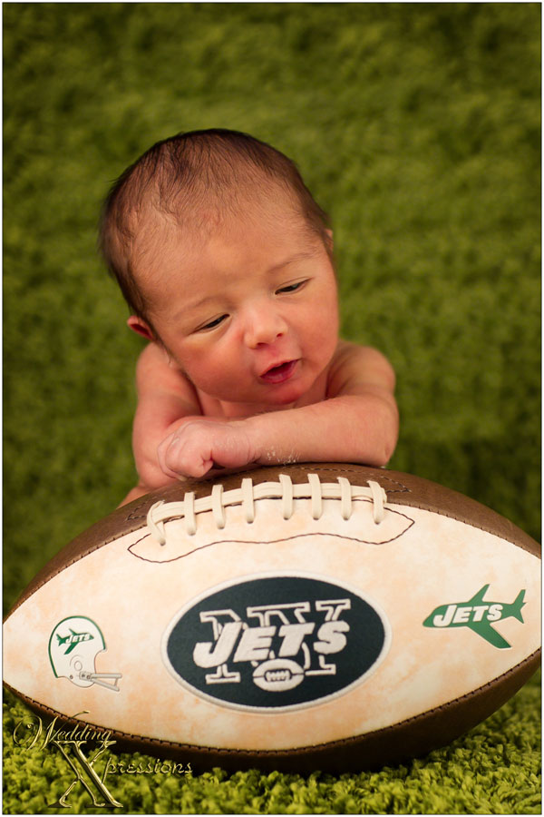 baby on Jets football