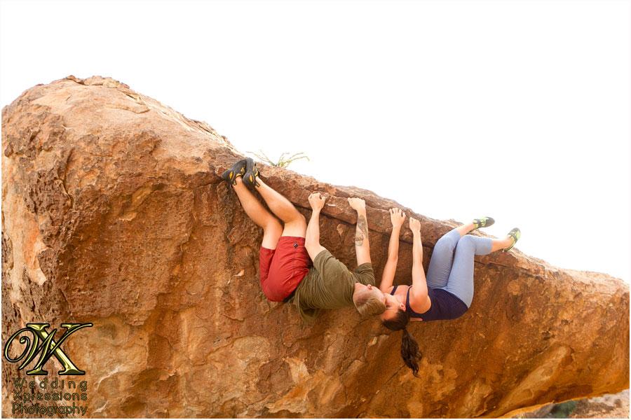 hanging couple