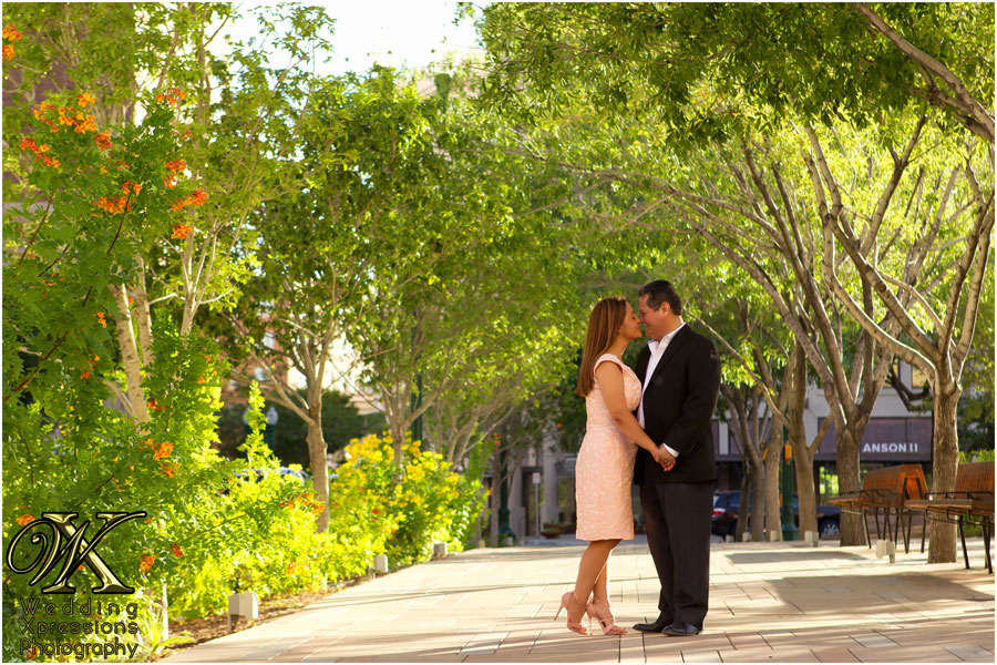 Michael & Alejandrina's downtown El Paso engagement session