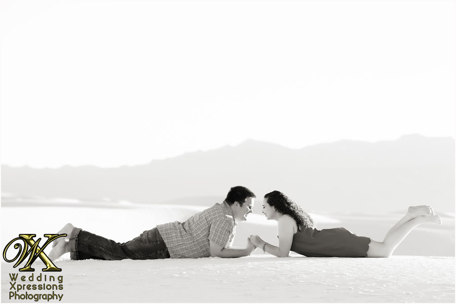 Wedding Xpressions photography at White Sands