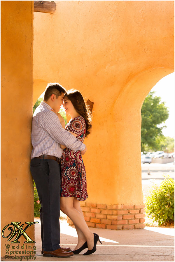 old mesilla engagement session photography