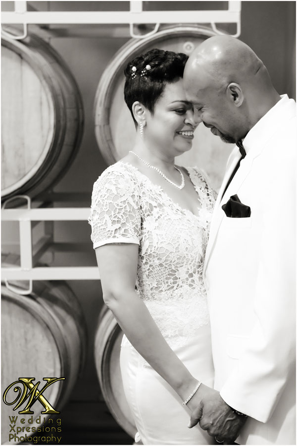 wedding photography at winery