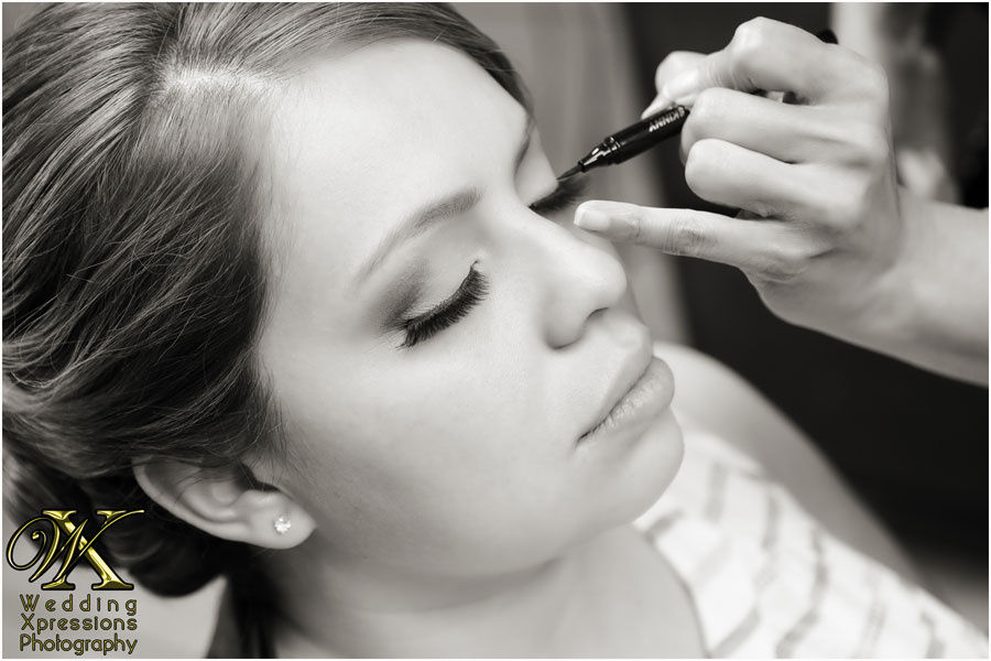 bridal makeup by Lydia Mendoza